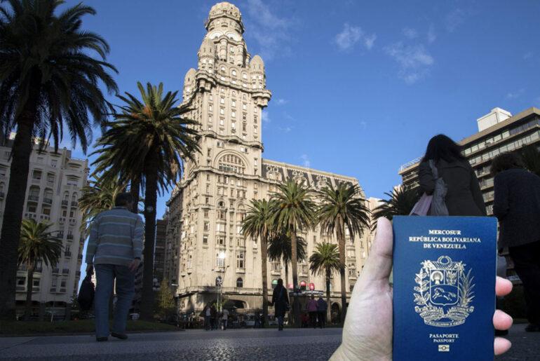 emigrar a Uruguay desde Venezuela